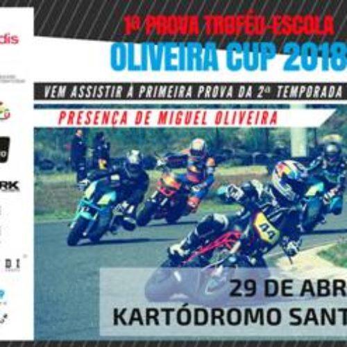 Segunda edição da Oliveira Cup é já neste fim de semana