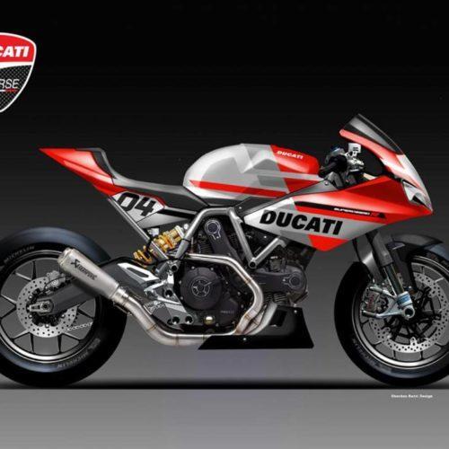 Ducati Supersport R Concept é homenagem de Oberdan Bezzi