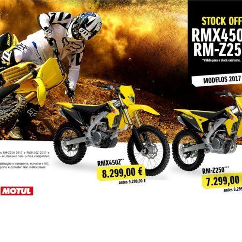 Moteo Portugal e Suzuki comunicam campanha para as RMZ250/RMX450Z