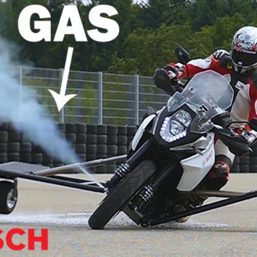Bosch aposta forte na segurança para motos