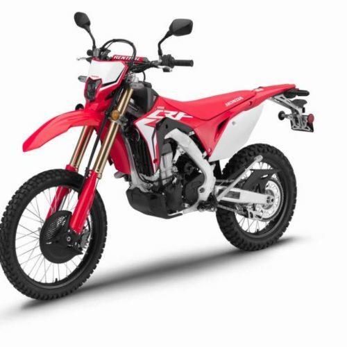 Honda mostra nova CRF450L, uma moto de enduro para o dia-a-dia