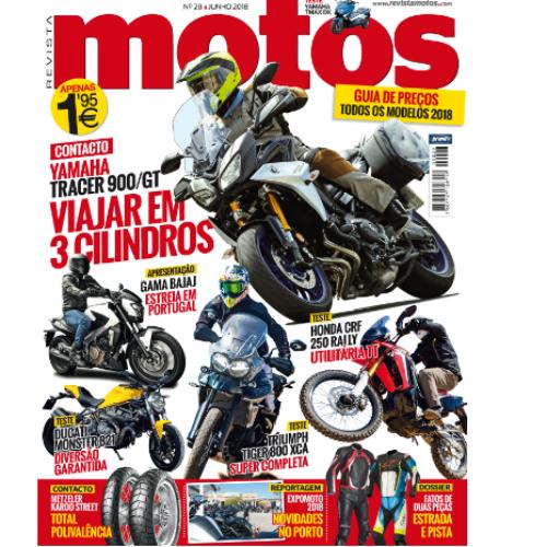 Edição de junho da Motos já nas bancas!