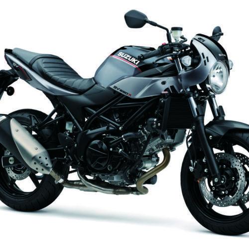 Suzuki mostra nova SV650X