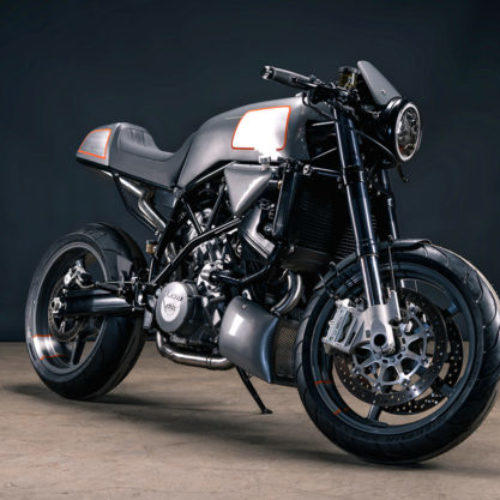 Analog Motorcycles mostra KTM 990 Super Duke