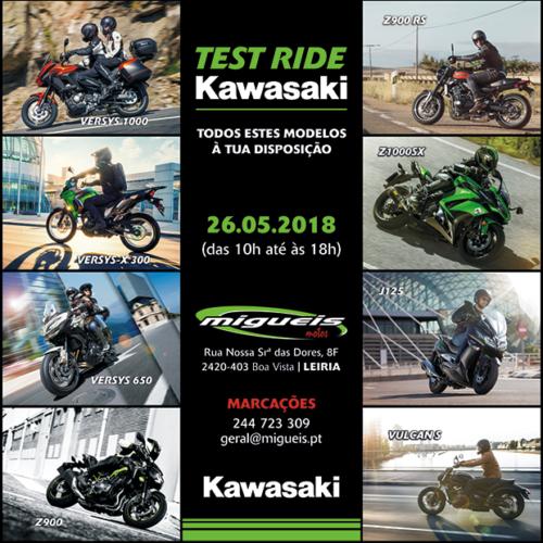 Kawasaki em Leiria convida a test-ride