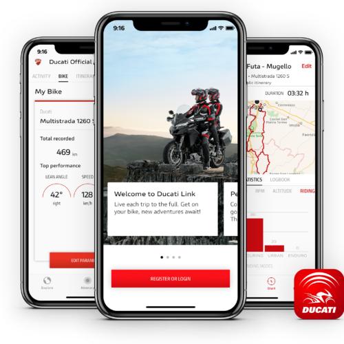 Nova App da Ducati torna as motos animais sociais