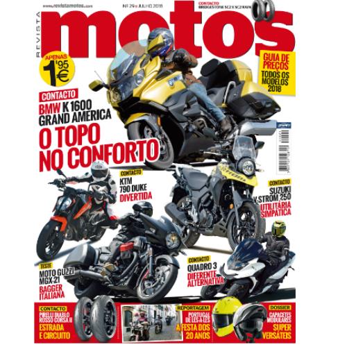 Edição de julho da Motos já nas bancas