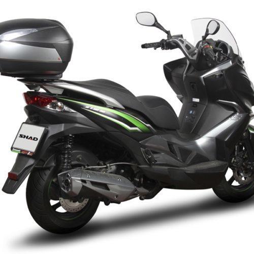 Kawasaki oferece Top Case SHAD nas scooters J125 e J300
