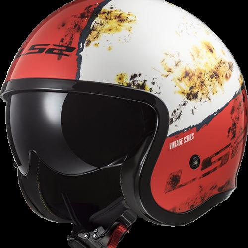 Novo capacete Spitfire com aspeto de ferrugem