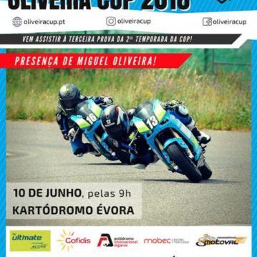Miguel Oliveira apadrinha terceira prova da Oliveira Cup