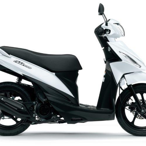 Suzuki já tem em comercialização a UK100 Adress E4