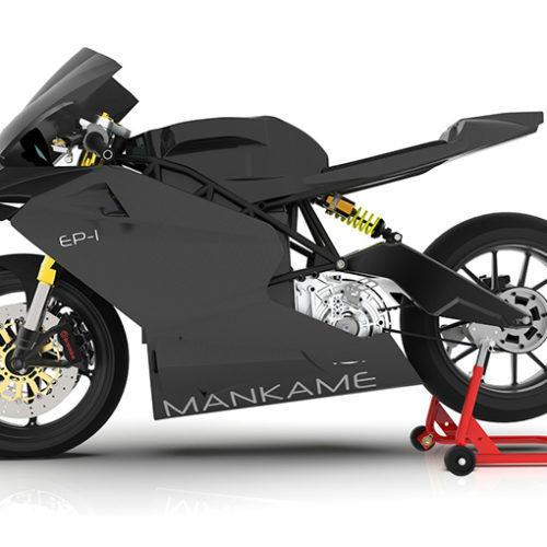 Mankame EP-1 é moto elétrica com binário de V8