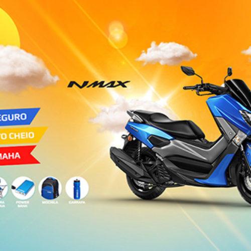 Yamaha NMAX à venda com oferta de kit de verão