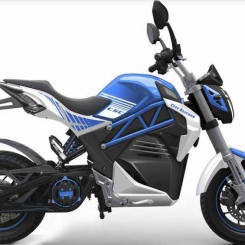 Uma moto elétrica… simpática, apelativa e chinesa