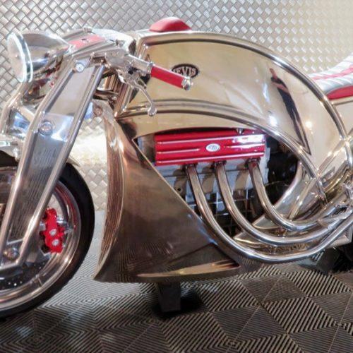 Levis Motorcycles lança a V6 Cafe Racer plena de luxo