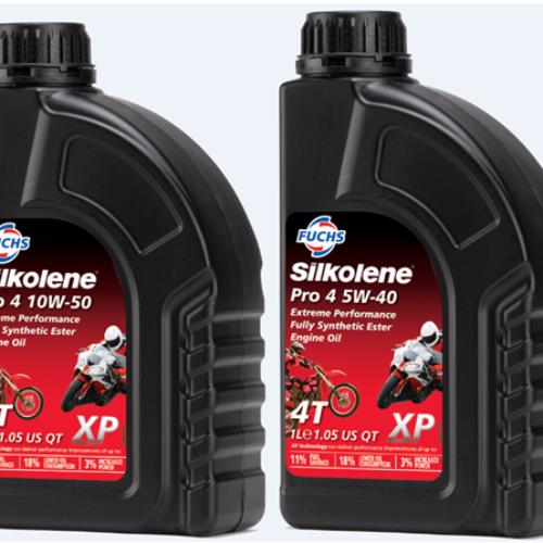 Reforço da gama SILKOLENE PRO 4 XP para motos