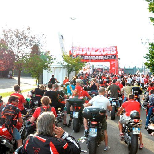 Assistência recorde na 10ª edição da World Ducati Week