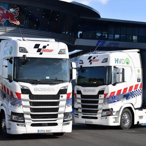 Scania mantém-se como fornecedor de camiões do MotoGP por mais dois anos