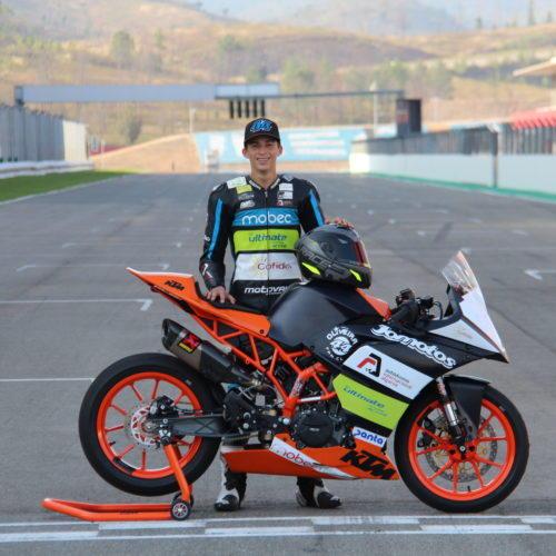 Pedro Fragoso estreia-se no WSBK em Portimão na categoria SS300