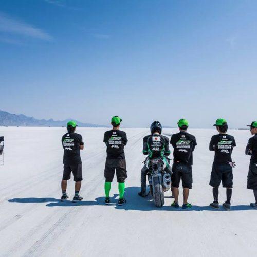 Kawasaki Ninja H2 bate recorde de velocidade em Bonneville