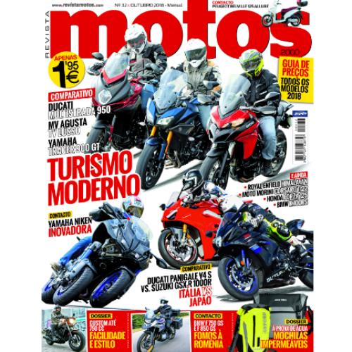 Revista Motos de outubro já está nas bancas