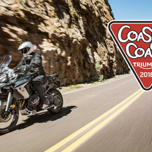 Triumph aposta em novo raid Coast2Coast