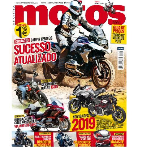 Revista Motos de novembro já está à venda