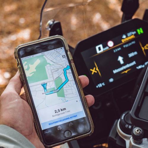 TomTom e BMW Motorrad fornecem In-Bike Navigation