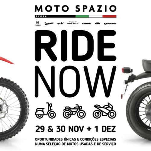 Moto Spazio em Évora vai realizar feira de motos usadas