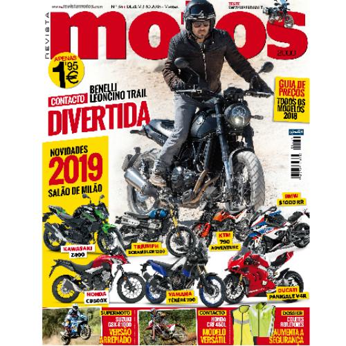 Revista Motos de dezembro já está nas bancas