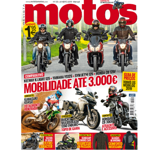 Revista Motos chega hoje à bancas