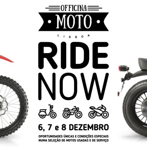 Officina Moto Lisboa realiza Ride Now já no próximo fim-de-semana