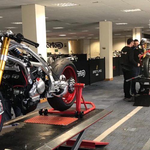 Norton dá início à produção das V4SS