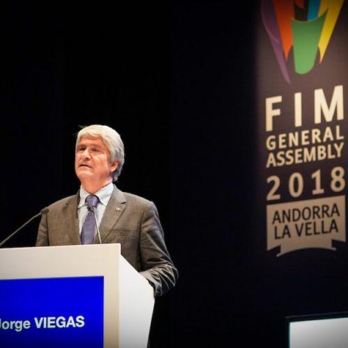 Jorge Viegas eleito Presidente da FIM