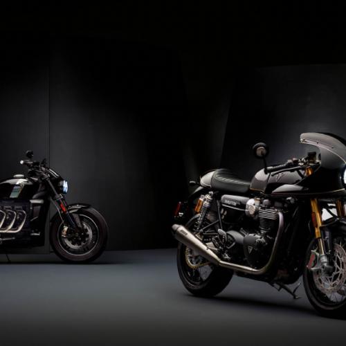 Triumph mostra edições especiais Thruxton e Rocket TFC
