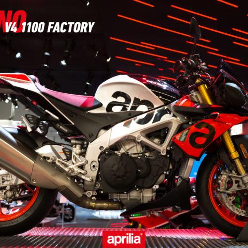 Novas motos Aprilia à venda a partir de 21 de fevereiro