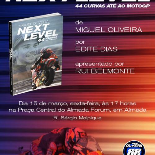 Miguel Oliveira apresenta livro no Almada Fórum