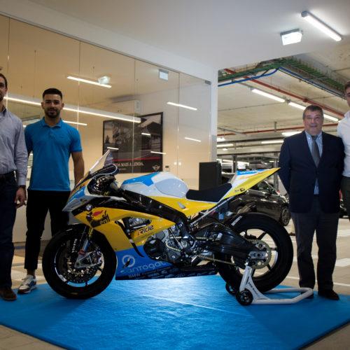 Equipa Santogal ENI BMW foi apresentada