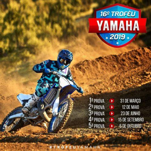 Décimo sexto troféu Yamaha 2019 arranca já em março