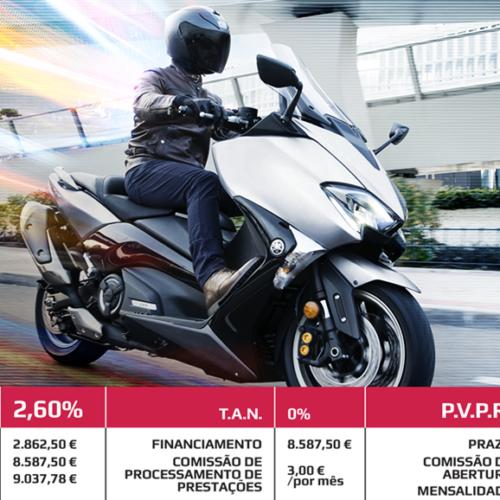 Yamaha lança campanha sem juros para a TMAX