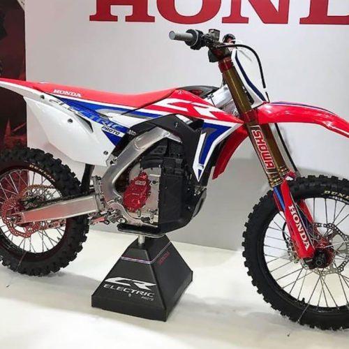 Honda mostra CR elétrica com motor Mugen