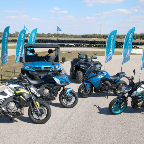 CF MOTO marca presença no Porto Extreme XL Lagares