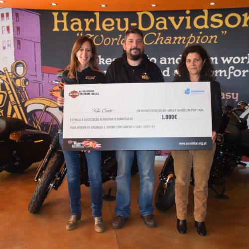 Harley-Davidson Portugal reúne donativos para ajudar jovens com cancro