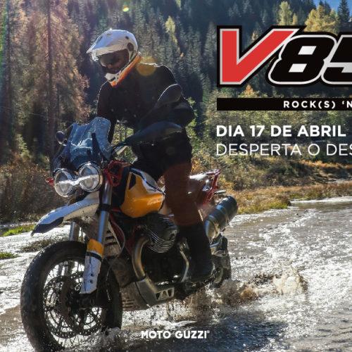Moto Guzzi lança V85 TT no dia 17 de abril