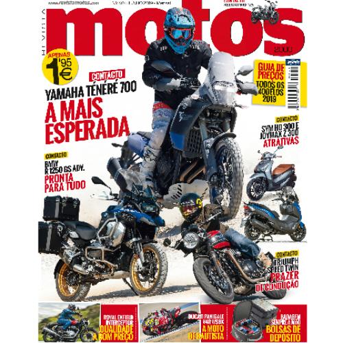 Revista Motos chega amanhã na bancas