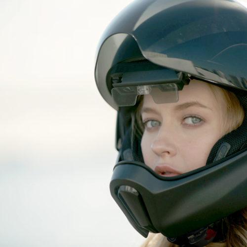 CrossHelmet X1 é um capacete com visão de 360º