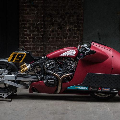 Moto especial da Indian Motorcycle para o Sultans of Sprint