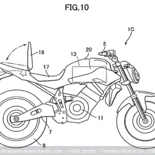 Yamaha pode eletrificar os modelos MT-07 e R1