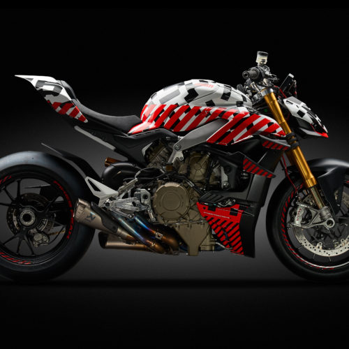Ducati vai a Pikes Peak com o protótipo Streetfighter V4