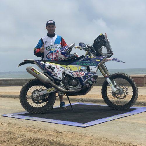 Fausto Mota confirmado no Dakar 2020 na Arábia Saudita